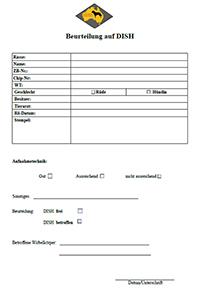 shop Dish formular